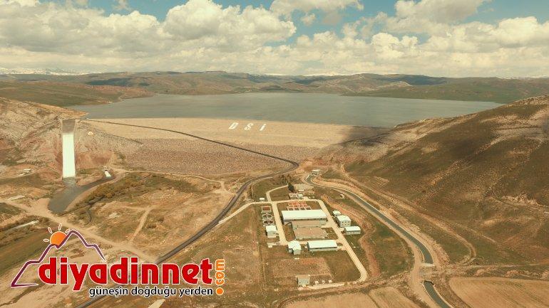 Ağrı'da 8 bin 400 Dekar Tarım Arazisi Sulandı