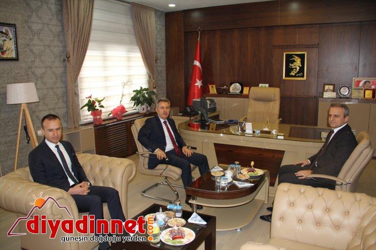 Ağrı Valisi Elban İl Milli Eğitim Müdürlüğünü ziyaret etti