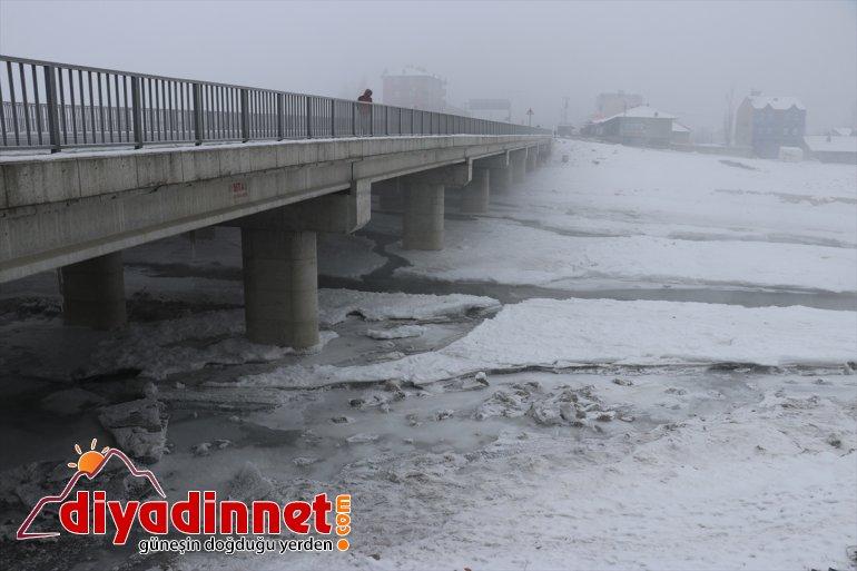 Soğuk hava Ağrı'da etkisini artırıyor