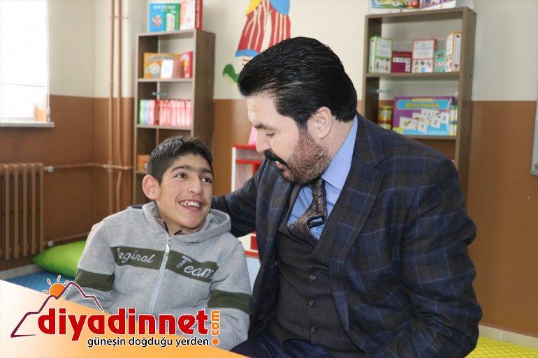 Türk Kızılay'ın Ağrı'da yaptırdığı özel eğitim sınıfları hizmete açıldı4
