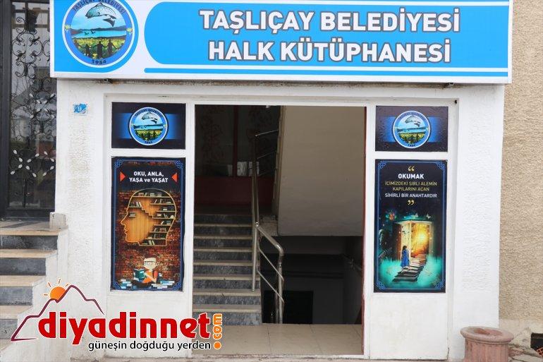 Ağrı Valisi Süleyman Elban, Taşlıçay'da kütüphane açılışına katıldı