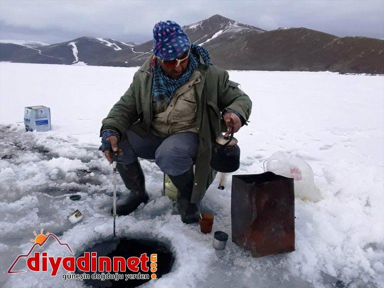 AĞRI kapıları ekmek - oldu Buzla Gölü kaplanan Balık 3