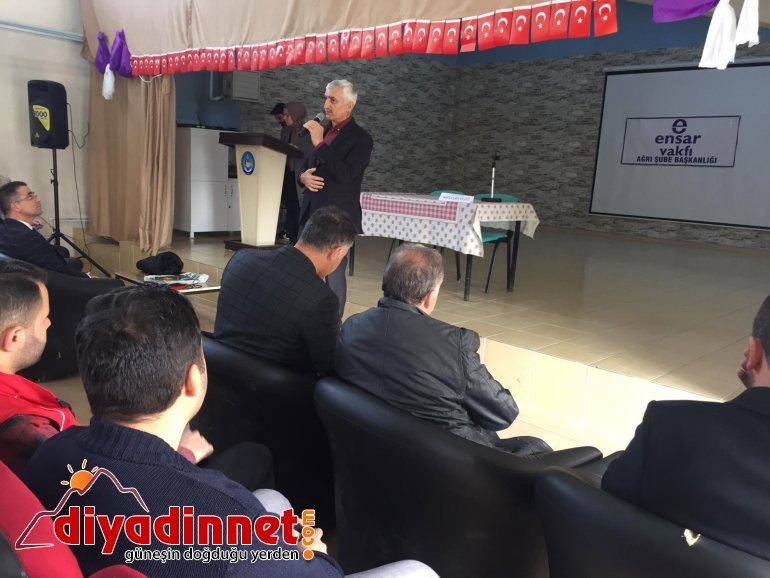 Hamur'da Namazla Diriliş Konferansı