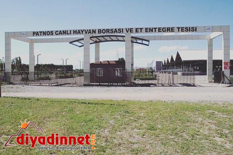 Patnos Canlı Hayvan Pazarı kapatıldı