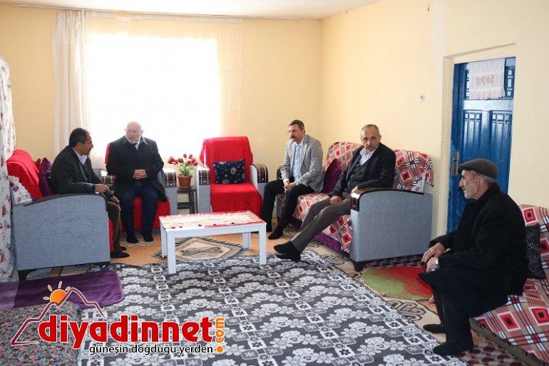 Patnos Kaymakamı Enver Özderin Çimenli Köyünü ziyaret etti2
