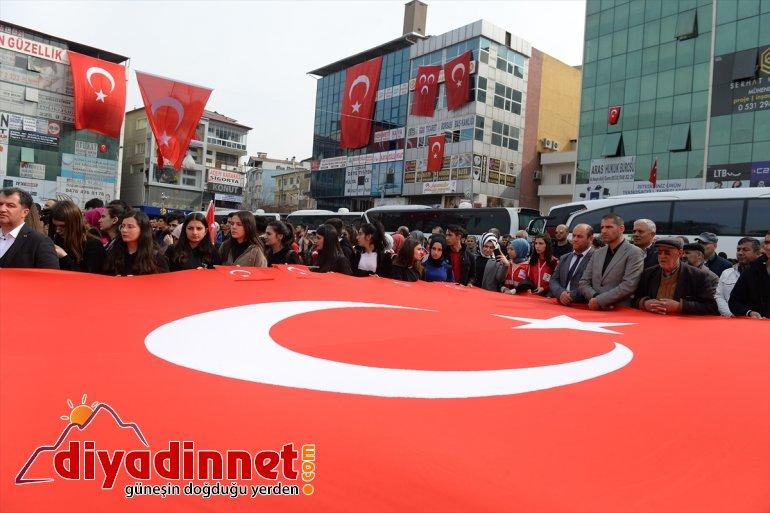 yürek oldu Türkiye Mehmetçik tek için 4