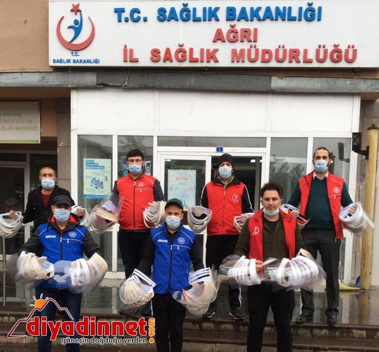 Ağrı Gençlik Merkezi siperli maskeyi5