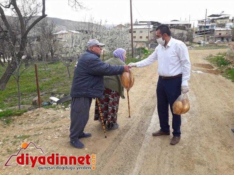 ekmek bin ücretsiz Darende'de dağıtıldı vatandaşlara 21 9
