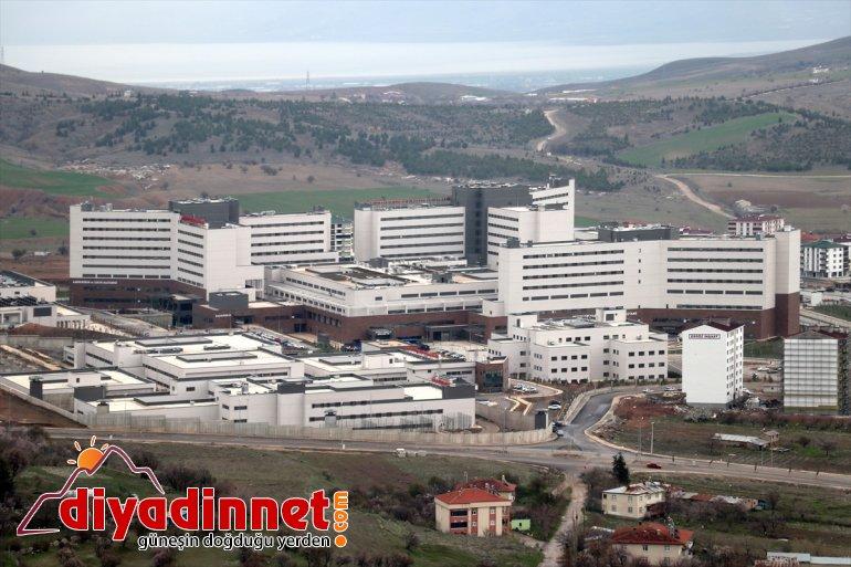 Sekin hastalara şifa Şehir Elazığ Hastanesi dağıtıyor Fethi bölgedeki 3