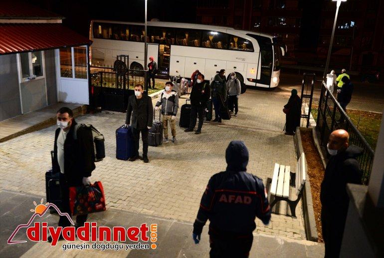 Almanya'dan vatandaşı getirilen Türk 187 yerleştirildi Bitlis'te yurda 14