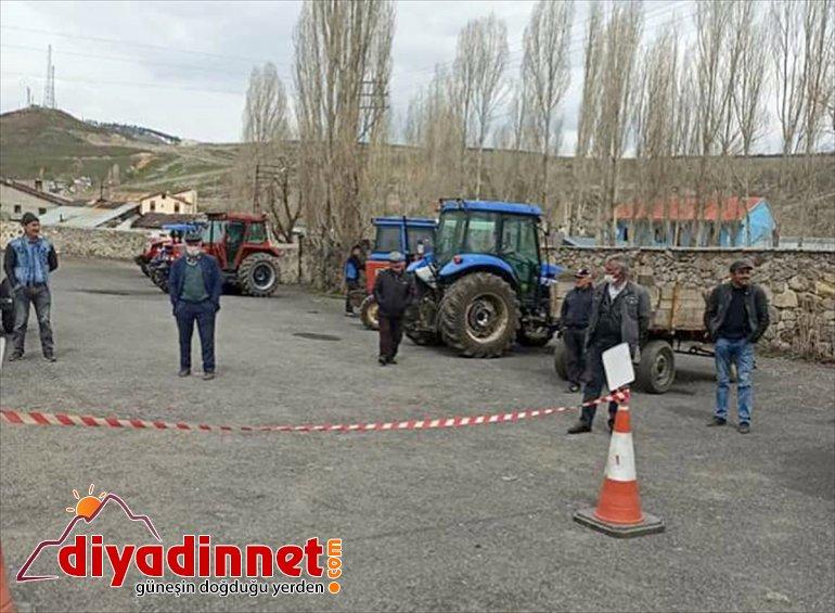 Sarıkamış'ta mobil hizmetinde çiftçilerin istasyonu muayene 2