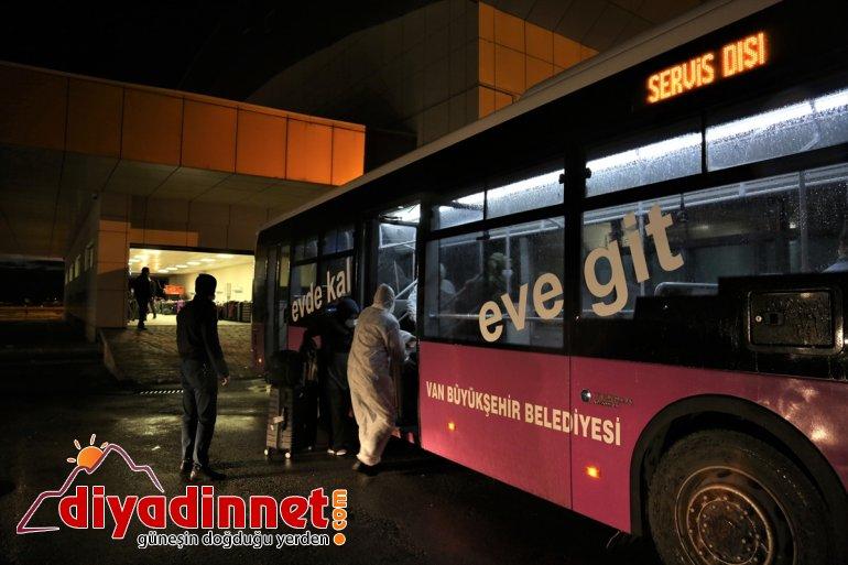Van'da Türk 189 vatandaşı yerleştirildi KKTC'den getirilen yurda 13