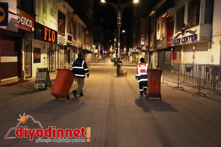 çıkma Ağrı, ardından sessizliğe kısıtlamasının büründü sokağa 2