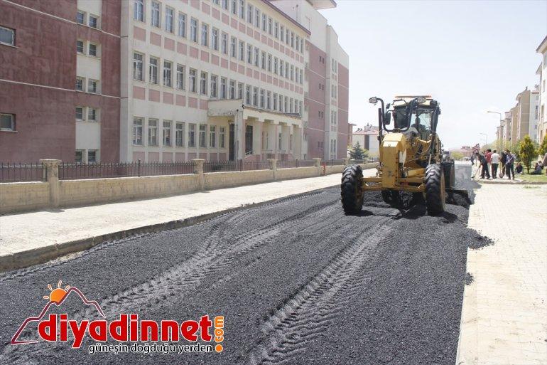 VAN - hız çalışmalarına verdi Belediyesi yol bakım Erciş 2