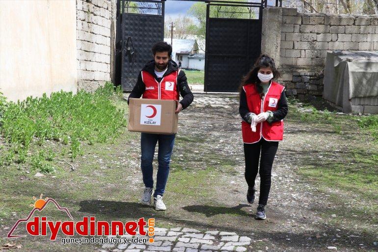 Ağrı'da Vefa Sosyal Destek Grubu'ndan 11 bin aileye ramazan yardımı