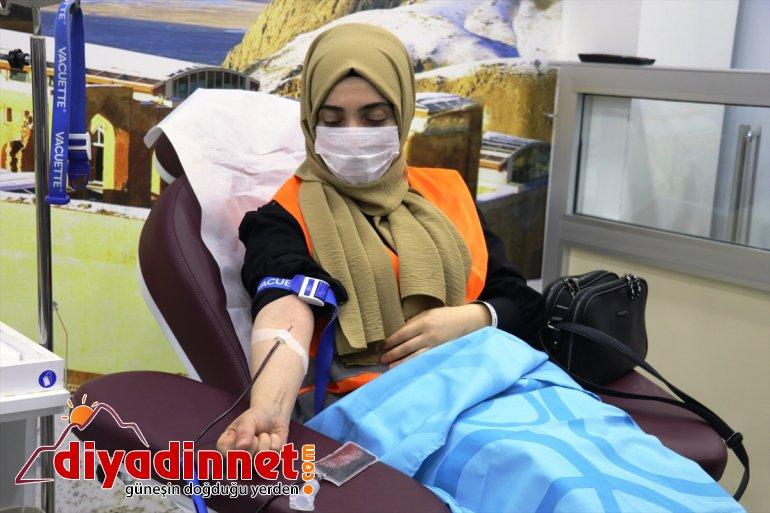 Ağrılıların kan bağışı duyarlılığı hastalara umut oluyor