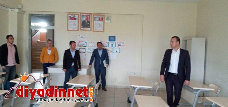 Ağrı Milli Eğitim Müdürü Tekin sınav merkezlerini denetledi7