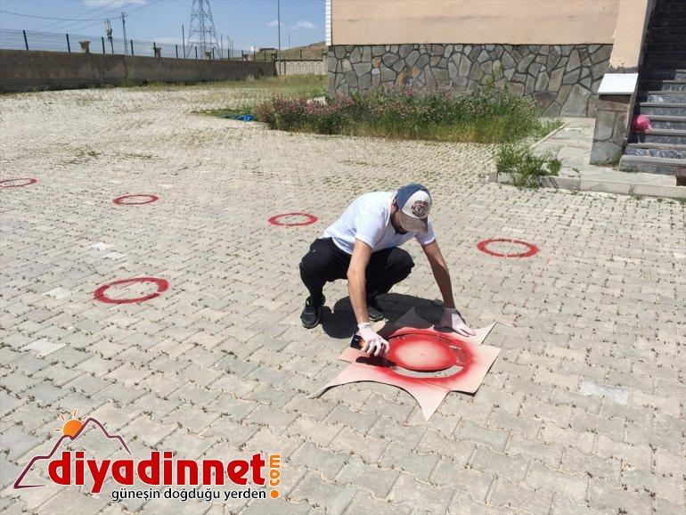 dezenfekte Ağrı'da okullar edildi sınav öncesi 4