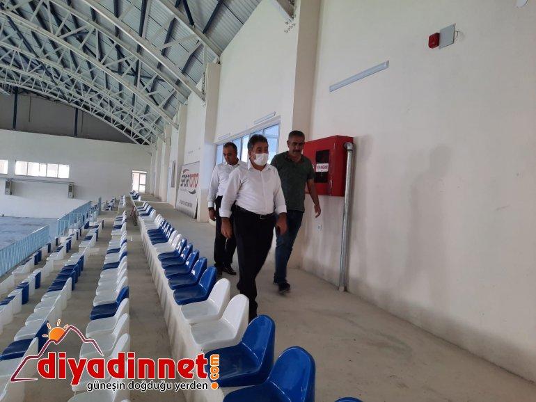 Ağrı GSİM Müdürü Demir Eleşkirt Tesislerini inceledi2