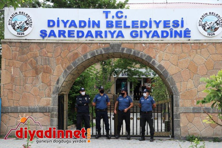 gözaltına Belediye Başkanı Diyadin Yaşar, terör Betül alındı HDP'li soruşturmasında 4