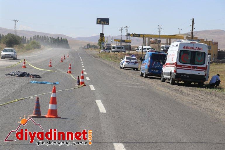 Ağrı'da kamyonun çarptığı işçi hayatını kaybetti