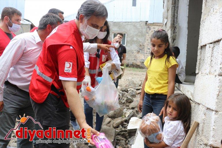 Türk yurt Kızılay ulaştırmayı 4 eti içi - AĞRI ve hedefliyor kurban dışında milyon kişiye 3