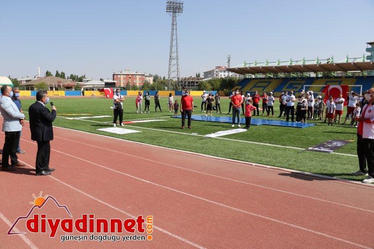 Ağrı da Avrupa Spor Haftası Etkinlikleri Başladı12