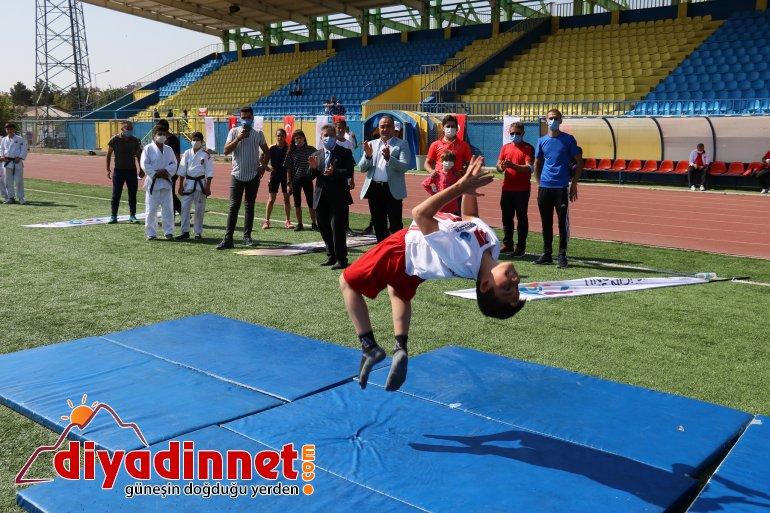 Ağrı da Avrupa Spor Haftası Etkinlikleri Başladı9