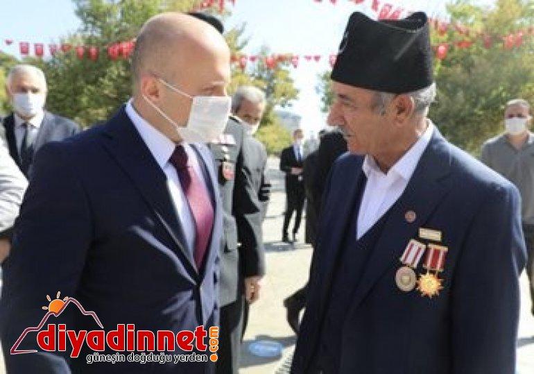 Ağrı da Eylül Gaziler Günü törenle kutlandı2