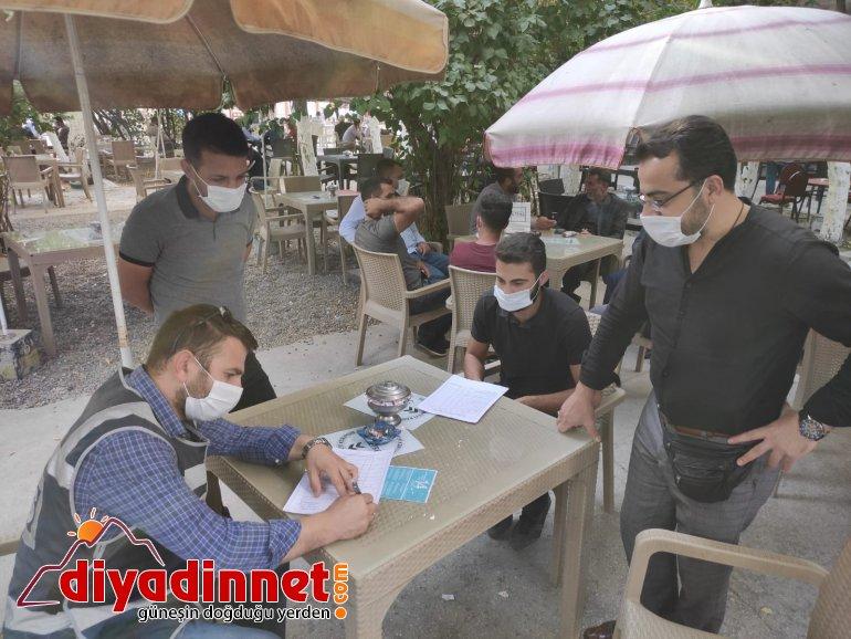 Ağrı'da karantina kuralını ihlal eden 6 kişiye 18 bin 900 lira ceza