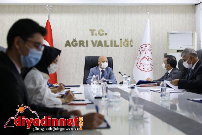 Ağrı İl Kültür ve Turizm Müdürlüğü Proje Değerlendirme Toplantısı2