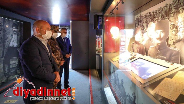 Ağrı Valisi Dr. Osman Varol, Çanakkale Savaşları Mobil Müzesi'ni ziyaret etti