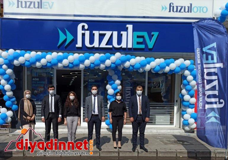 FuzulEv Ağrı'daki ilk şubesini hizmete açtı