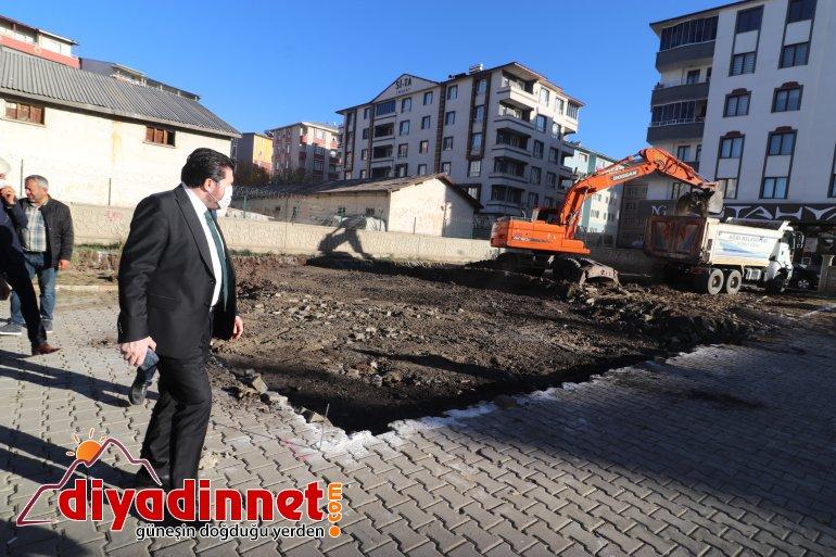 Ağrı Belediyesi Mahalle Konağı Çalışmalarına Başladı3