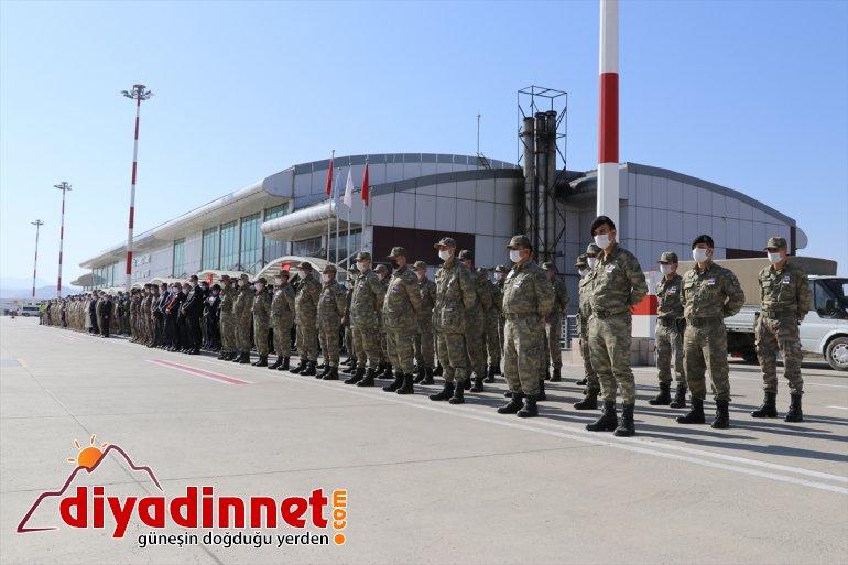 Ağrı'da asker olan memleketine şehit törenle uğurlandı 6