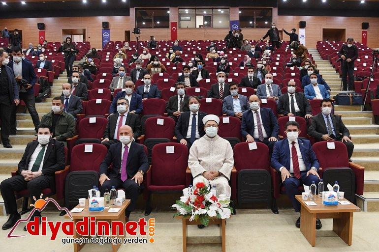 Diyanet İşleri Başkanı Ali Erbaş, Ağrı'da konferans verdi: