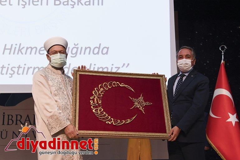 Erbaş, Başkanı verdi: Ağrı'da İşleri Ali Diyanet konferans 9