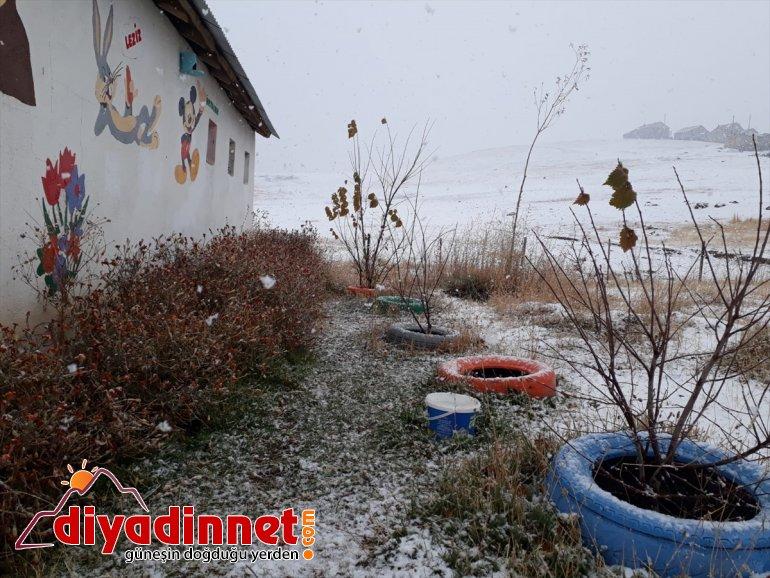 AĞRI yağdı kesimlere - kar Yüksek 7