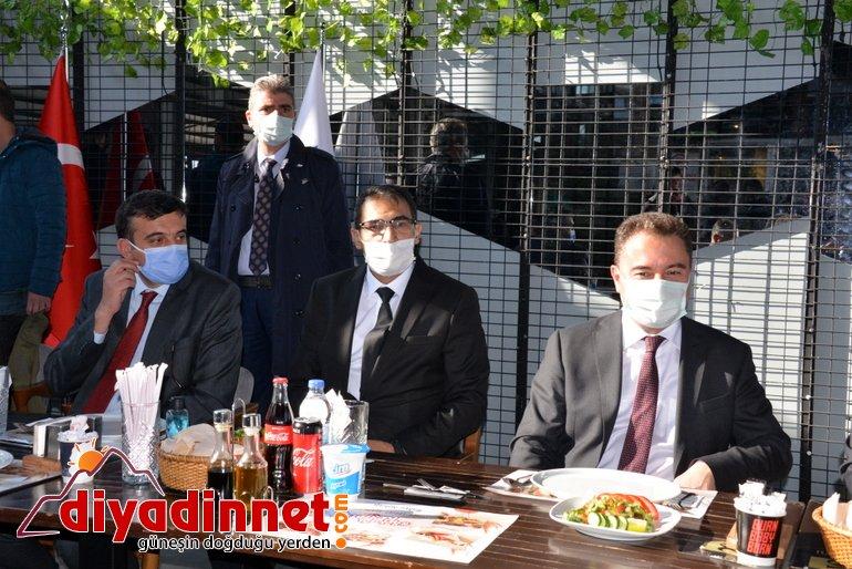 DEVA Partisi Genel Başkanı Babacan partisinin Ağrı kongresine katıldı10