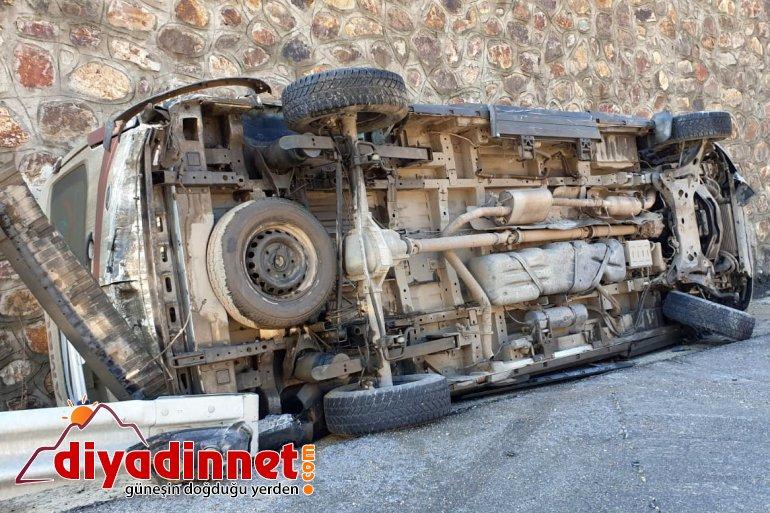 ağrı haber ambulans kaza1