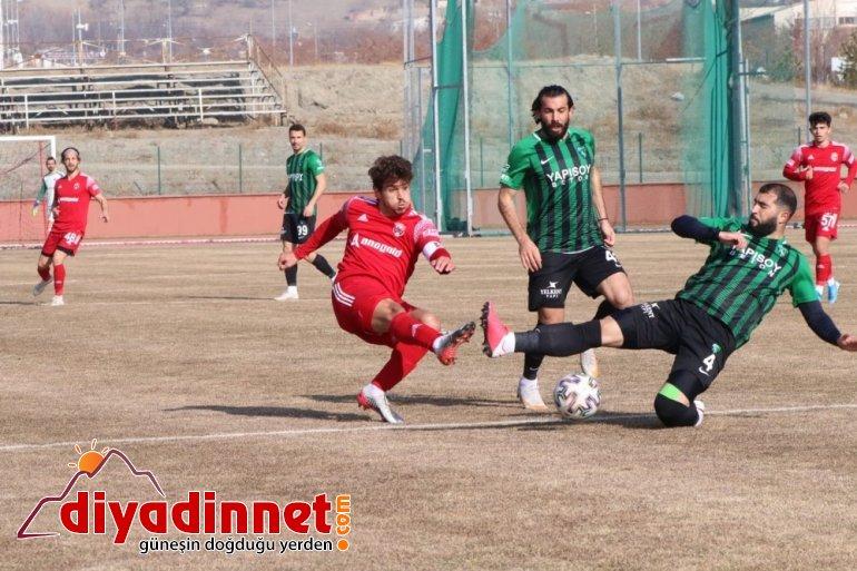 24Erzincanspor ile Kocaelispor golsüz berabere kaldı