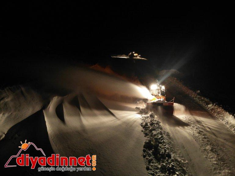 coğrafyasında sürüyor AĞRI de mücadele gece Doğu'nun karla - zorlu 9
