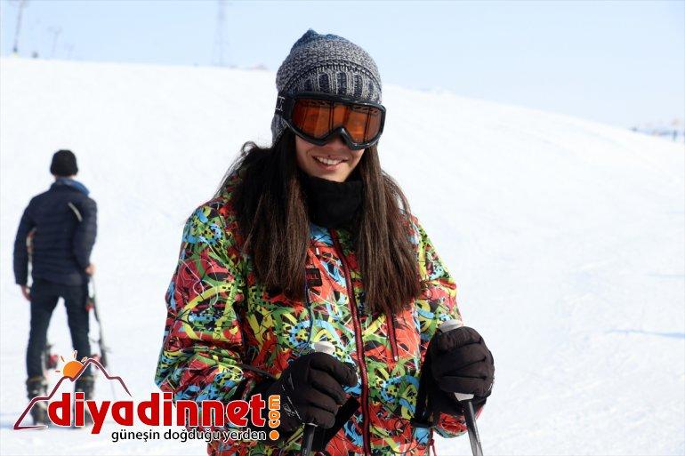 Merkezi kayakseverleri ağırlıyor Ağrı'daki yüzüyle Kayak yenilenen Küpkıran 21