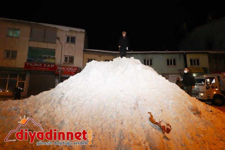 Başkan Sayan Ağrı da Karla Mücadele Çalışmalarını Denetledi2