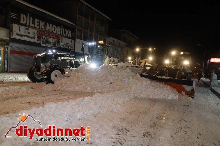 Başkan Sayan Ağrı da Karla Mücadele Çalışmalarını Denetledi3