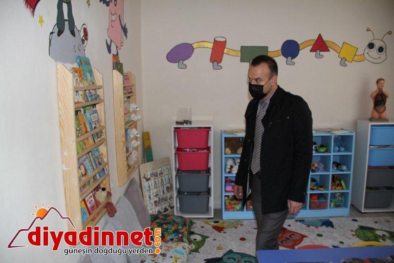 Hamur Özdirek İlkokulu anasınıfı ve öğretmenler odası açılışı yapıldı5
