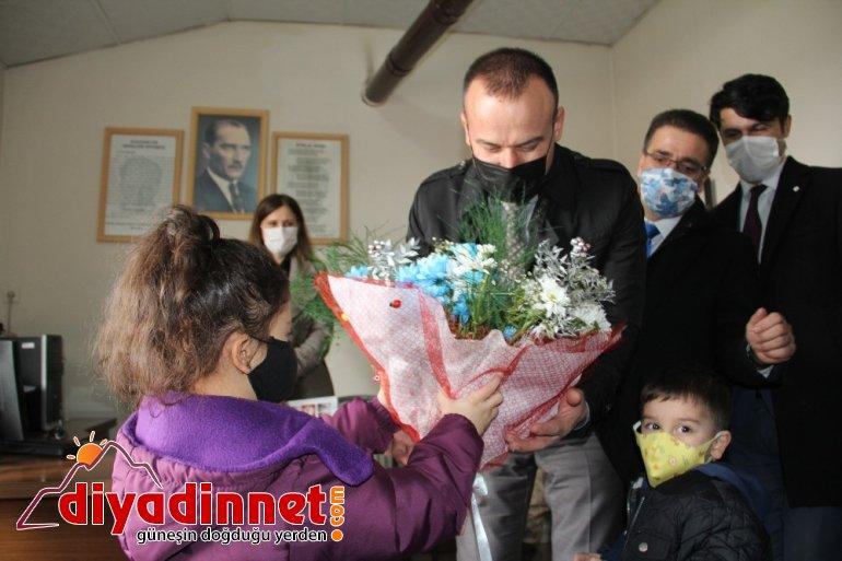 Hamur Özdirek İlkokulu anasınıfı ve öğretmenler odası açılışı yapıldı6