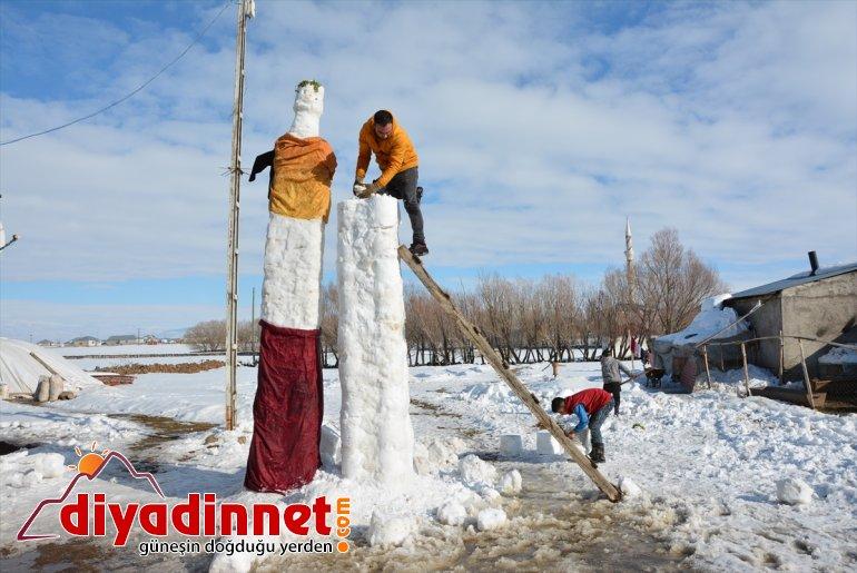 AĞRI yağışına 5 gelin kardeşler, sevinen metrelik damat Kar kardan ve yaptı - 2
