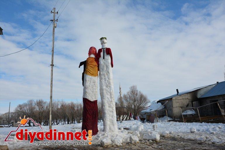 yağışına sevinen damat yaptı kardan metrelik - Kar AĞRI gelin 5 kardeşler, ve 11