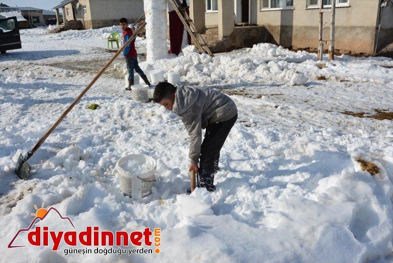 Kar 5 kardan sevinen damat gelin yaptı yağışına - metrelik kardeşler, ve AĞRI 6